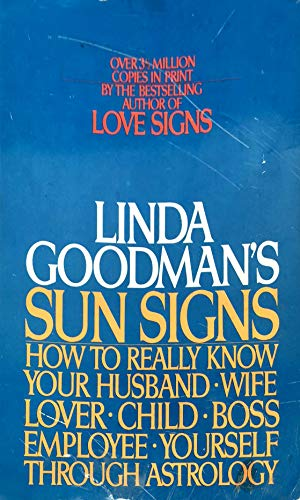 9780553012910: Linda Goodman's Sun Signs