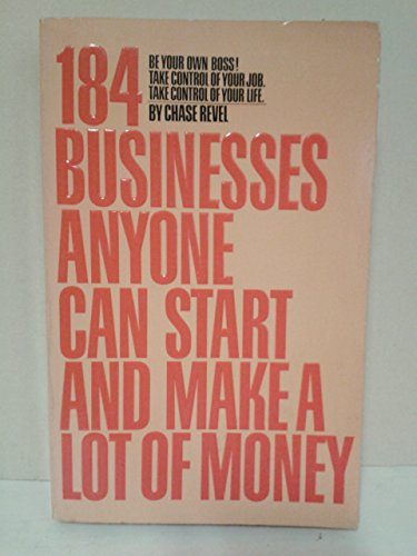 9780553012989: 184 businesses anyone can start and make a lot of money
