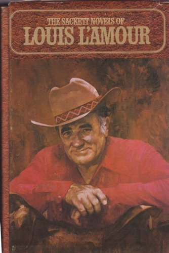 9780553013009: The Sackett novels of Louis L'Amour, 4 Vol. Set