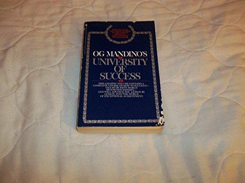 9780553013887: Og Mandino's University of Success