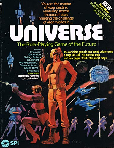 9780553014334: Universe: The Role-Playing Game of the Future, 2nd Edition