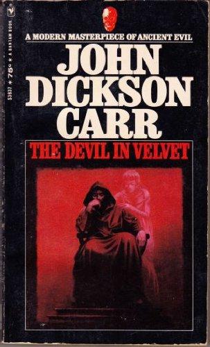 9780553036374: The Devil In Velvet: A Modern Masterpiece of Ancient Evil (Bantam Horror, S3637)