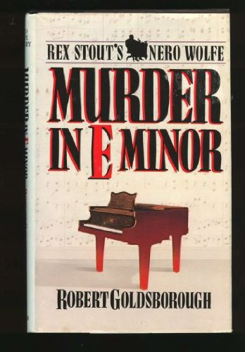 9780553051230: Murder in E Minor: A Nero Wolfe Mystery