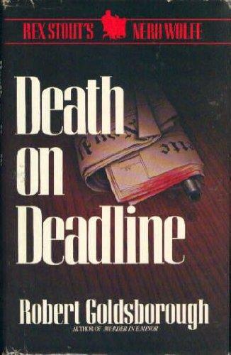 9780553051933: Death on Deadline: A Nero Wolfe Mystery