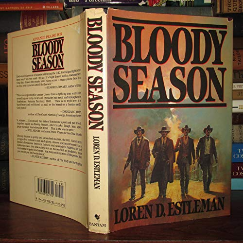 Bloody Season: Estleman, Loren D. [ Bill Prozini & Martin H. Greenberg, editors]