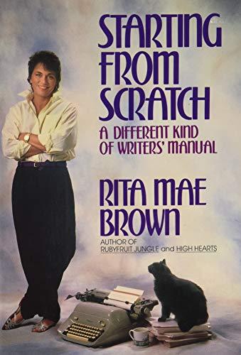 2 book lot sc: Starting from Scratch: Brown, Rita Mae
