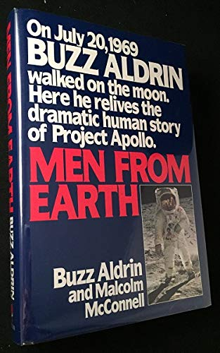 Men From Earth ( SIGNED ): Buzz Aldrin with