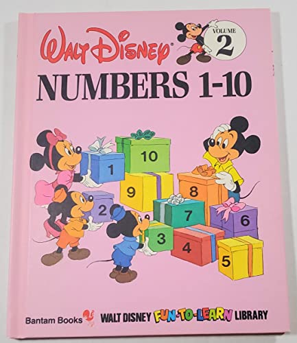 Walt Disney Numbers 1-10 - Vol. 2: Walt Disney Fun-To-Learn