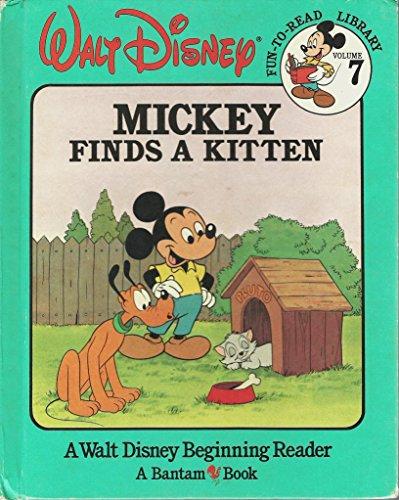 Mickey Finds a Kitten (Walt Disney Fun-To-Read: Walt Disney
