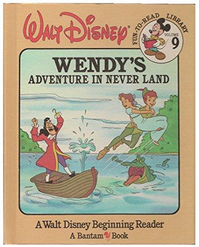 Wendy's Adventure in Never Land (Walt Disney: Walt Disney