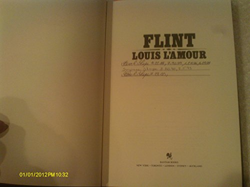 9780553062014: Flint (The Louis L'Amour Collection)