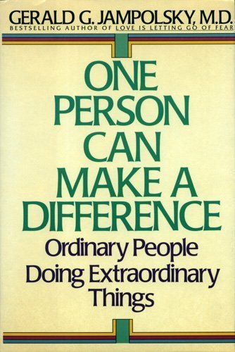 9780553070255: One Person Can Make the Difference: Ordinary People Doing Extraordinary Things