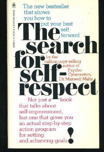 9780553085273: Search for Self Respect