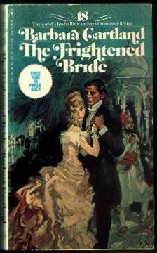 9780553087802: The Frightened Bride (The Bantam Barbara Cartland Library #18)