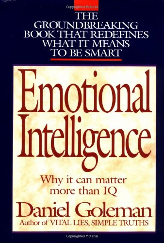 9780553095036: Emotional Intelligence: Why It Can Matter More Than Iq for Character, Health and Lifelong Achievement