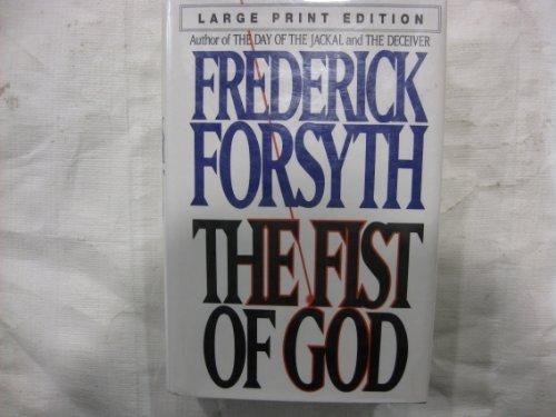 9780553096620: FIST OF GOD, THE(LARGE PRINT) (Bantam/Doubleday/Delacorte Press Large Print Collection)