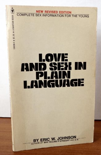 9780553100396: Love and Sex in Plain Languge