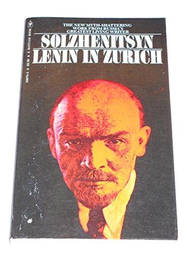 9780553100792: Lenin in Zurich