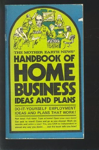 9780553101553: Handbook of Home Business Ideas and Plans