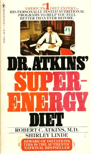 9780553103502: Dr Atkins' Super-Energy Diet