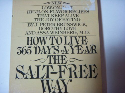 How To Live 365 Days A Year The Salt-Free Way