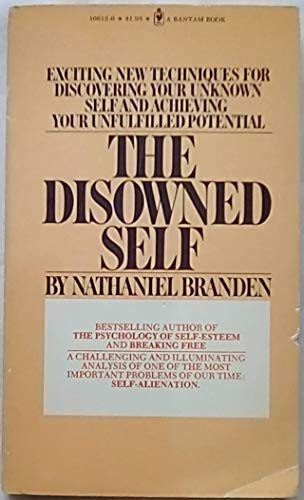 9780553106121: The Disowned Self [Taschenbuch] by Nathaniel Branden