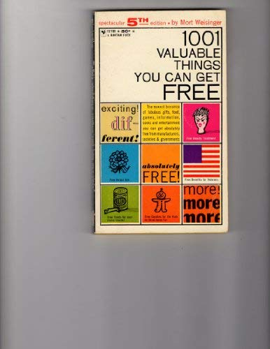 9780553108613: 1001 valuable things you can get free