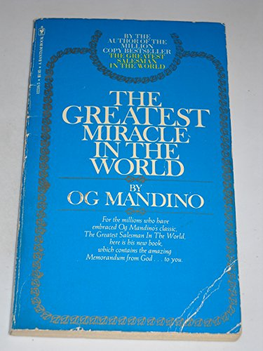 9780553108668: Greatest Miracle In The World