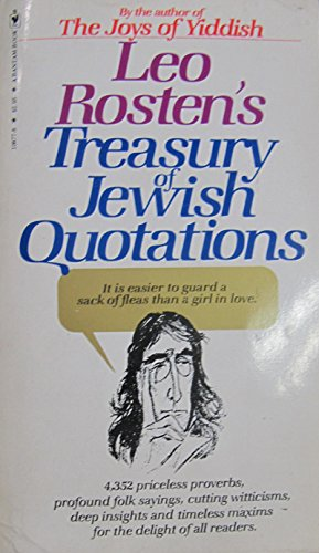 9780553108774: Treasury of Jewish Quotations