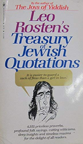 9780553108774: Treasury of Jewish Quotations