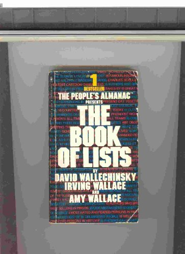9780553111507: Book of Lists