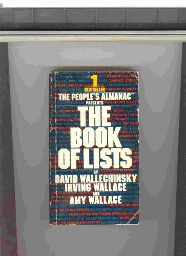 9780553111507: The People's Almanac Presents The Book of Lists