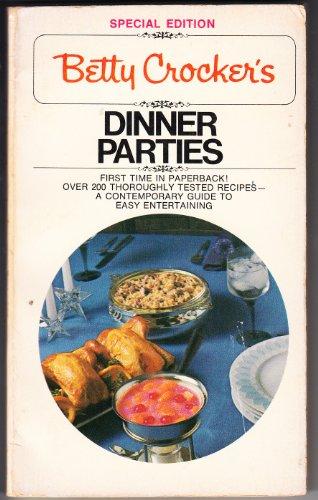 9780553111880: Betty Crocker's Dinner Parties