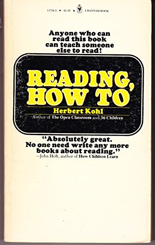 9780553117165: Reading, How to