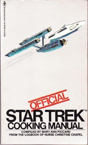 9780553118193: Official Star Trek Cooking Manual