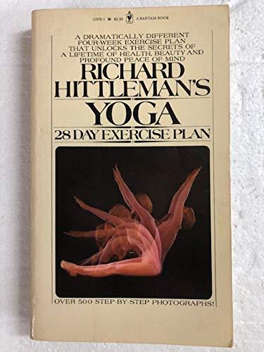 9780553119763: Richard Hittleman`s Yoga-28 Day Exercise Plan