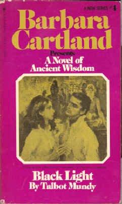 9780553121308: Black light (Barbara Cartland's ancient wisdom series)