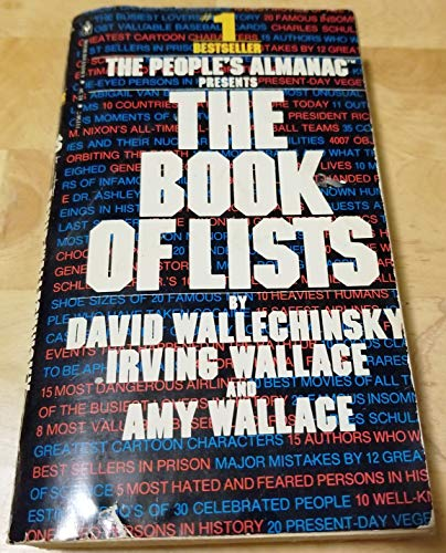 9780553124002: The Book of Lists