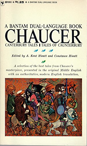 9780553125115 Canterbury Tales A Bantam Dual Language Book