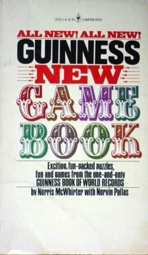 Guiness New Game Book (0553125702) by Norris with Pallas, Norvin McWhirter