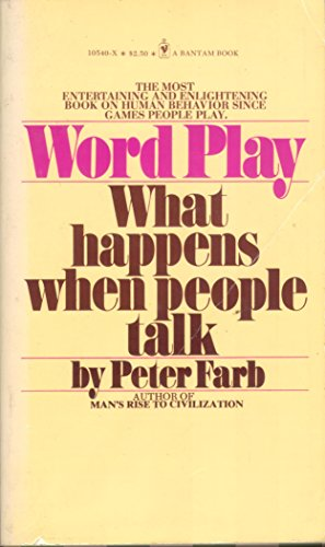 9780553126068: Word play: What happens when people talk