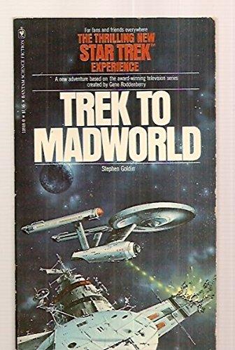 9780553126181: Trek to Madworld (Star Trek TOS)