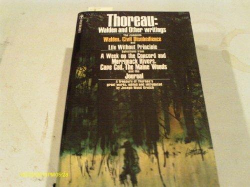 Thoreau: Walden and Other Writings: Henry David Thoreau