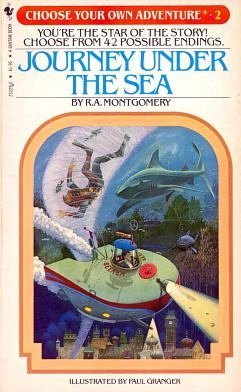 9780553127898: Journey Under the Sea (Choose Your Own Adventure, 2)
