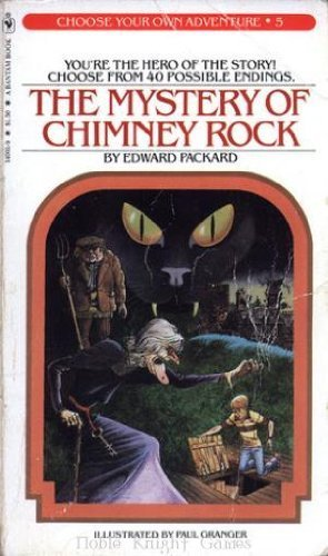 9780553128185: The Mystery of Chimney Rock (Choose Your Own Adventure, #5)