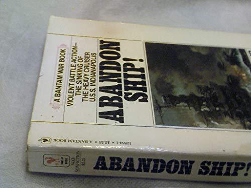9780553128840: Abandon ship! (Bantam war book series)