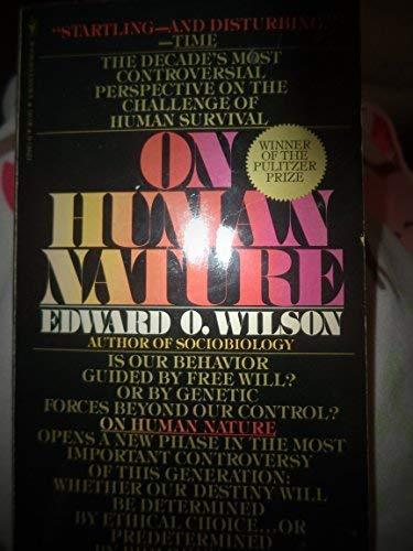 9780553129434: On Human Nature