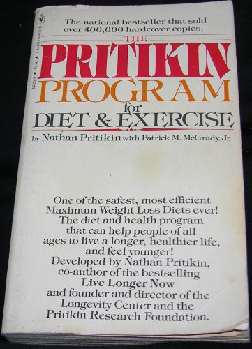 9780553130263: Pritikin Program for Diet and Exercise