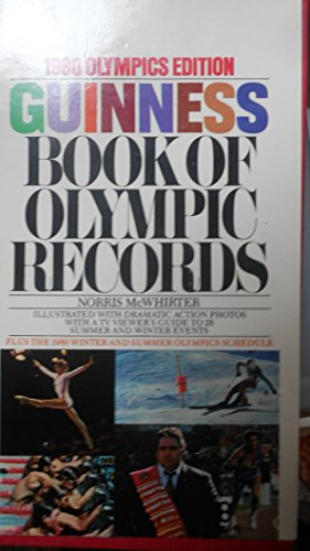 1980 Olympics Edition Guinness Book Of Olympic Records