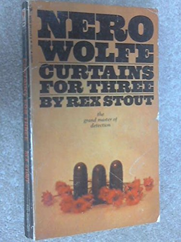 9780553135480: Curtains for three (A Nero Wolfe mystery)